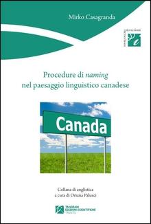 Procedure di naming nel paesaggio linguistico canadese