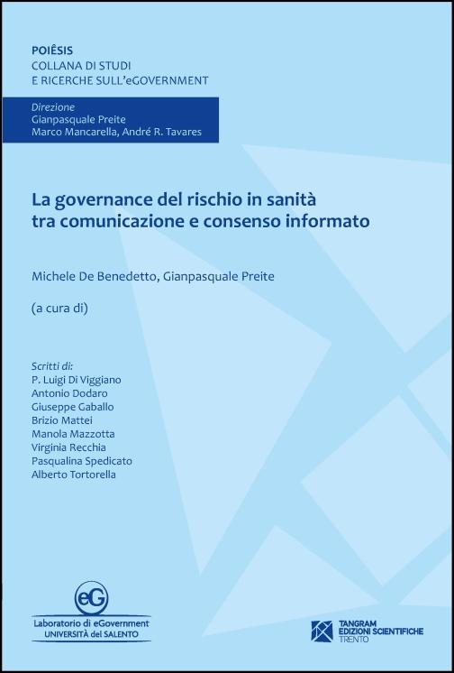 La governance del rischio in sanità tra comunicazione e consenso informato